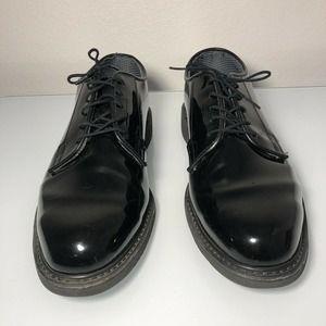 Bates Uniform shoes Black  Men's Oxfords Size 10